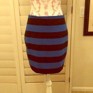 Michael Kors Stripe Ponte Knit skirt